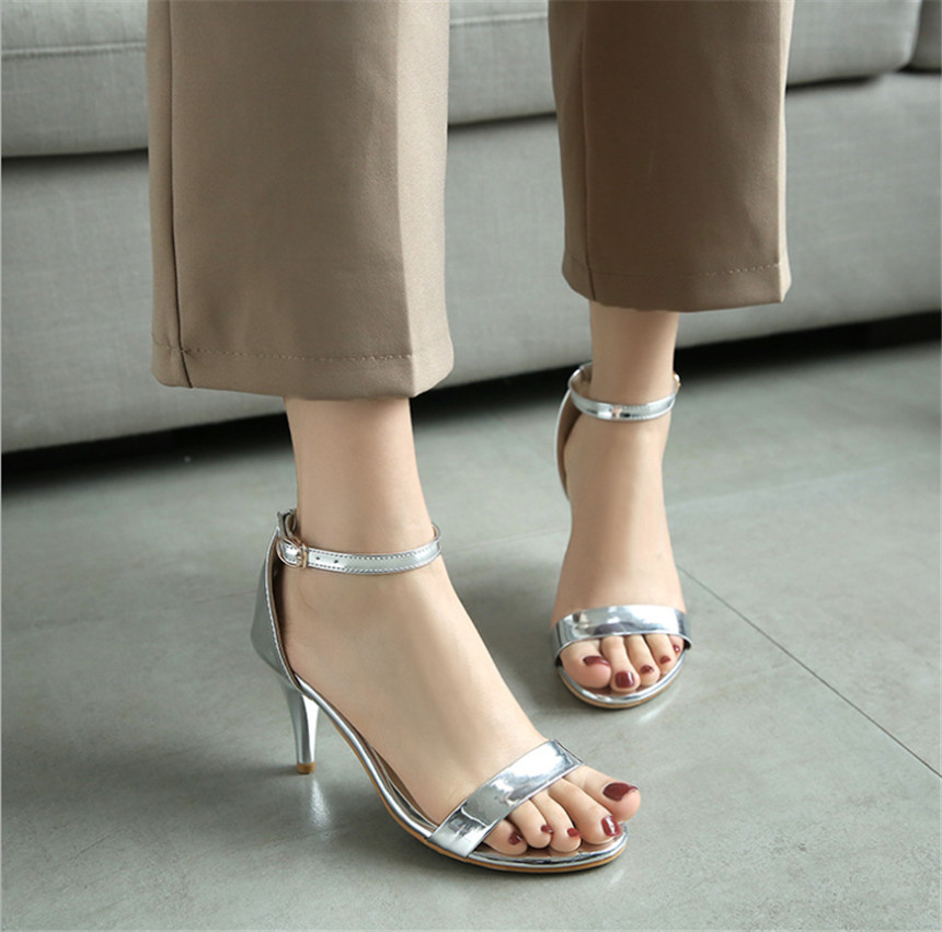 ZOUDKY 2018 summer Comfortable breathable toe New Korean version ladies sandals