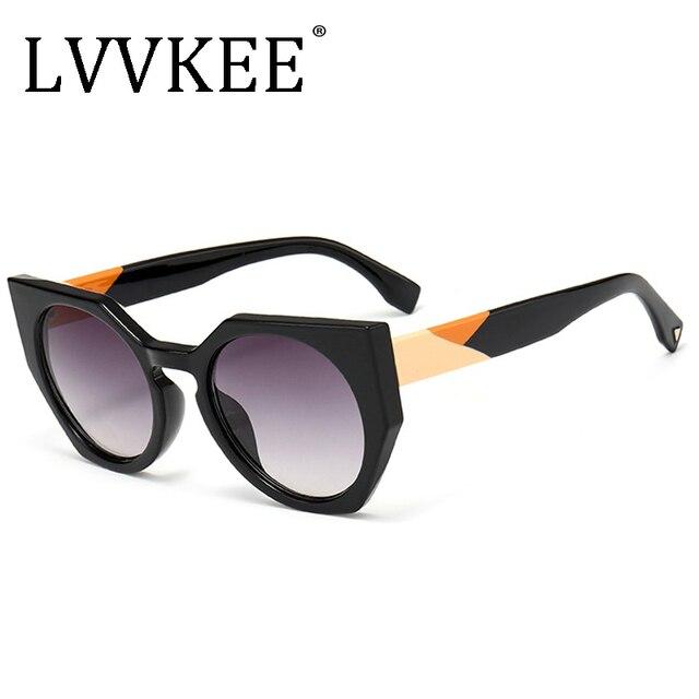 1853469ee073a 2018 NEW Fashion Trend Women Cat Eye Style Gradient Vintage Sunglasses  Classic Retro Brand Design Sun