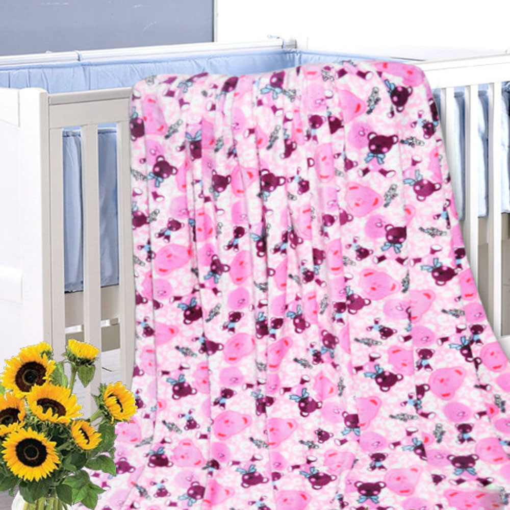 Bed sheet pattern - 1 Pcs Queen Size Flannel Blanket Bed Sheet Bedclothes 180 200cm 10 Pattern Printed Cobertor