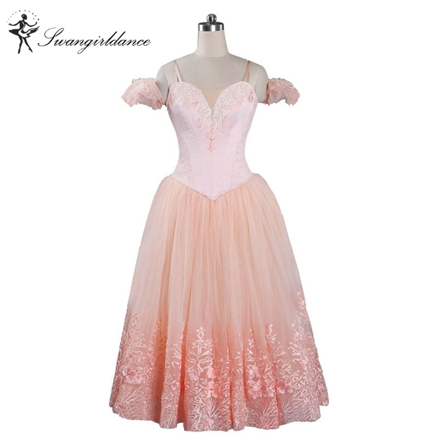 6a302498d95e light pink ballerina tutu dress for women giselle ballet tutu dress costumes  adult tutu ballerina dress kids BT9089