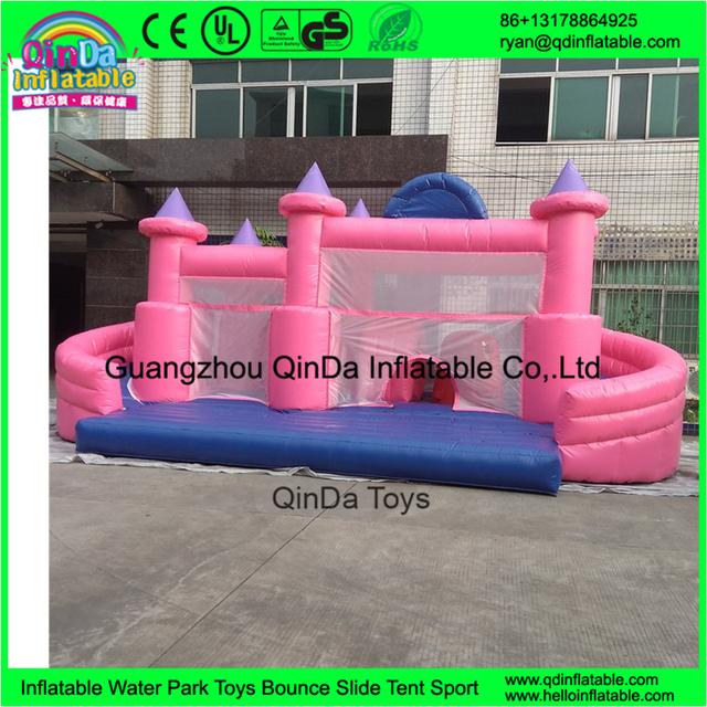Parque De Diversões aquáticas Palhaço Inflável Casa Bouncer com Slide/Combo Inflável para a Festa