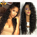 glueless full lace frontal wigs human hair with baby hair curly unprocessed lace front wig curly brazilian hair u part wigs best