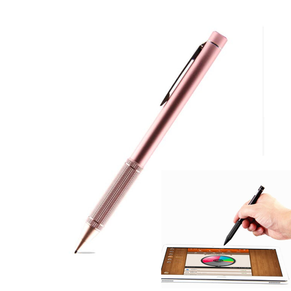 High precision Active Stylus Capacitive Touch Screen For Microsoft New Surface Go Pro 4 3 5 Laptop Book 2 pro4 Tablet Pen Case active pen capacitive touch screen for lenovo miix 4 5 pro 720 7000 miix 310 320 710 300 325 stylus high precision nib 1 4mm
