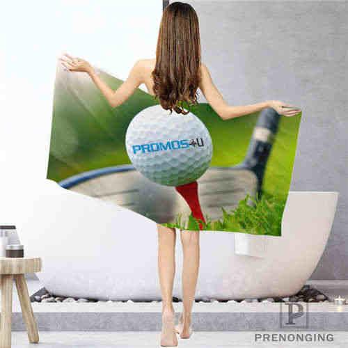 Custom golf-ball- (1) bagno Panno Per Il Viso Asciugamani Viso Asciugamano/Telo da bagno Asciugamani da Doccia Formato 33x7 4cm/72x143 centimetri #18-12-17-05-238