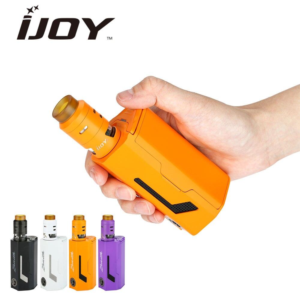 Originale 300 W IJOY MAXO Kit con 2.6 ml RDTA Zenith 5 S serbatoio Airflow Control Alimentato da 3x18650 Enorme Potere Vaping No batteria