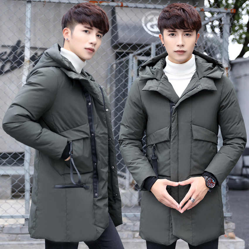 eae1a18bc Detail Feedback Questions about Winter Men's White Duck Down Coats ...