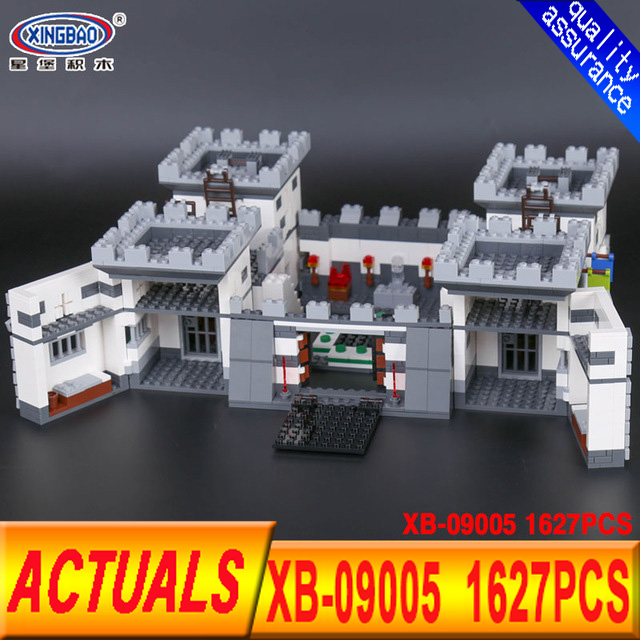 Xingbao 09005 1627Pcs Blocks Series The Castle of Holy War Set Educational Building Blocks Bricks Boy Toy For Children Boys Gift rollercoasters the war of the worlds