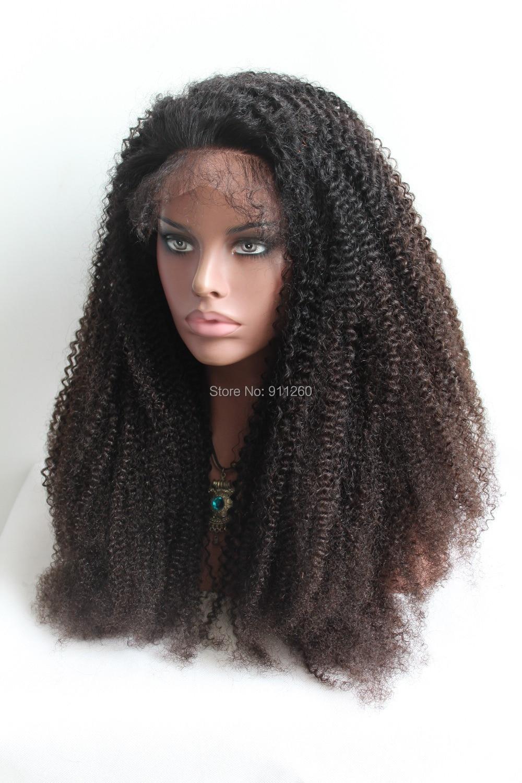 180 Density Stock Virgin Hair Color Eurasian Afro Kinky Curly Full