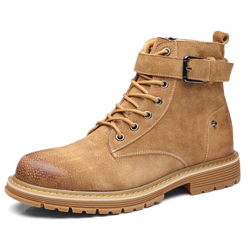Martin Cavalheiro Genuíno 1 Dos Homens Hop Botas Personalidade Couro De Vestido 3 Respirável Da0101 Sapatos Rebites Hip Flat 2 Jovem Tornozelo wSf6xgFqx