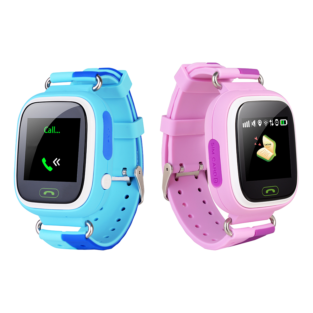 Cute GPS Watch for Kids Baby Smartwatch Wristwatch with Wifi Touch Screen SOS Call Location Tracker Kid Safe Anti-Lost Monitor children gps smart watch q750 baby watch with wifi 1 54inch touch screen sos call location device kids watch phone montre f15