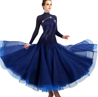2018 ballroom dance dresses woman ballroom dance competition dresses waltz standard ballroom dress girls woman