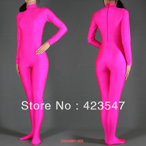 Rose Lycra Spandex zentai suit zentai red tights Halloween carnival party costumes