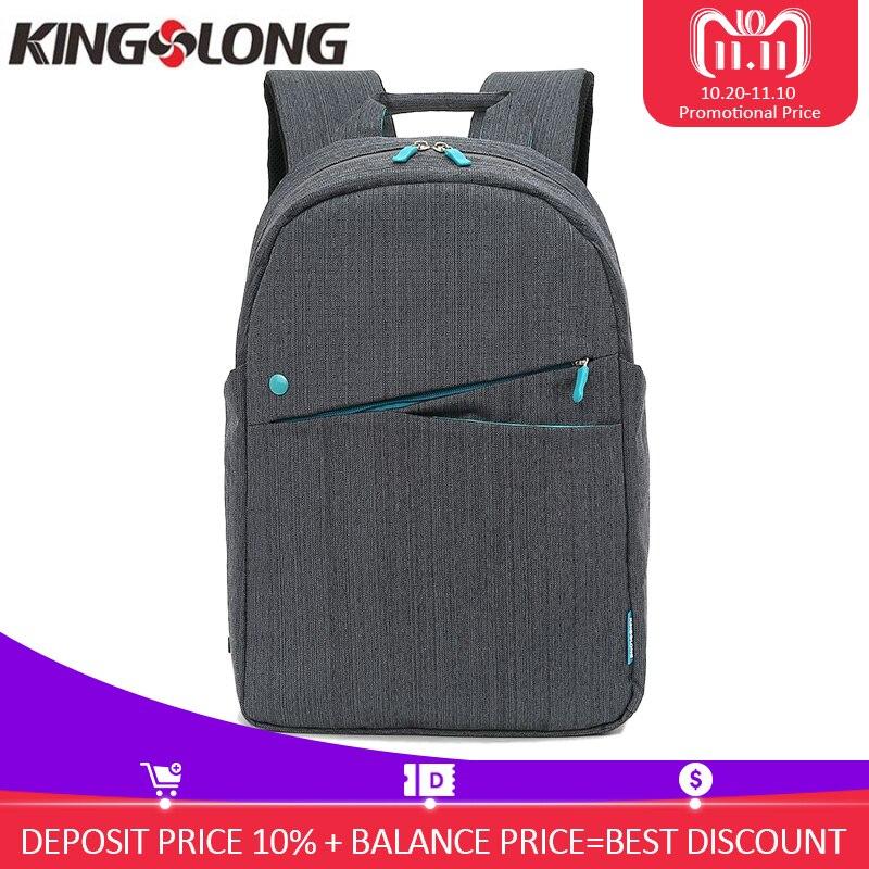 KINGSLONG 15.6 Inch Backpack for Women Men School Waterproof Casual Style  Bag Male Mochila KLB1310-7 0f84e71398b08