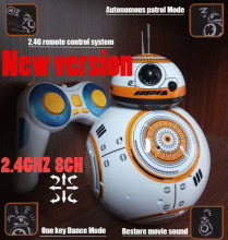 2 4GHZ 40MHZ 8CH upgrade version Star Wars 7 RC BB 8 BB8 remote control rc