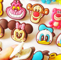 (12 pcs /lots ) Animation And Comic Products Stationery Silicon Paper Clips Office Supplies Cartoon Clips