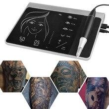 귀영 나팔 기계 장비 세트 디지털 방식으로 영원한 메이크업 귀영 나팔 장치 장비 눈 썹 입술을위한 직업적인 Siwss 모터 귀영 나팔 전력 공급