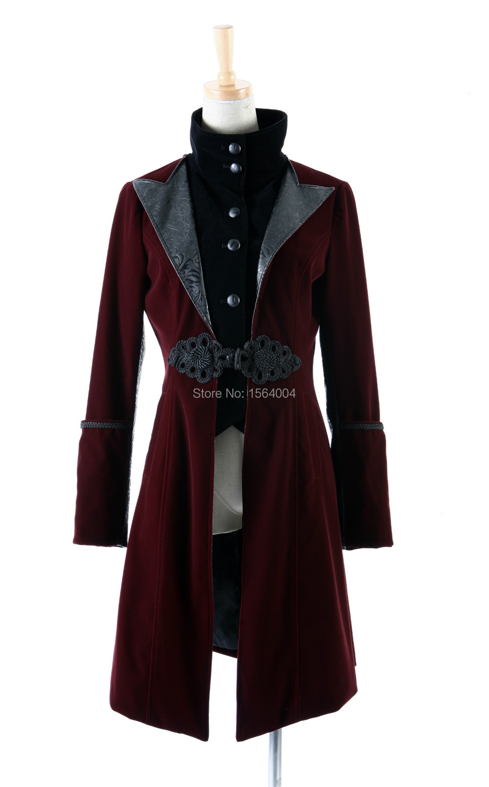 Popular Red Military Coat Women-Buy Cheap Red Military Coat Women ...