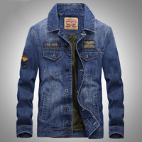 New Arrival Fashion Brand Denim Jacket Men Retro European Style Cowboy Jacket High Quality Jaqueta Jeans
