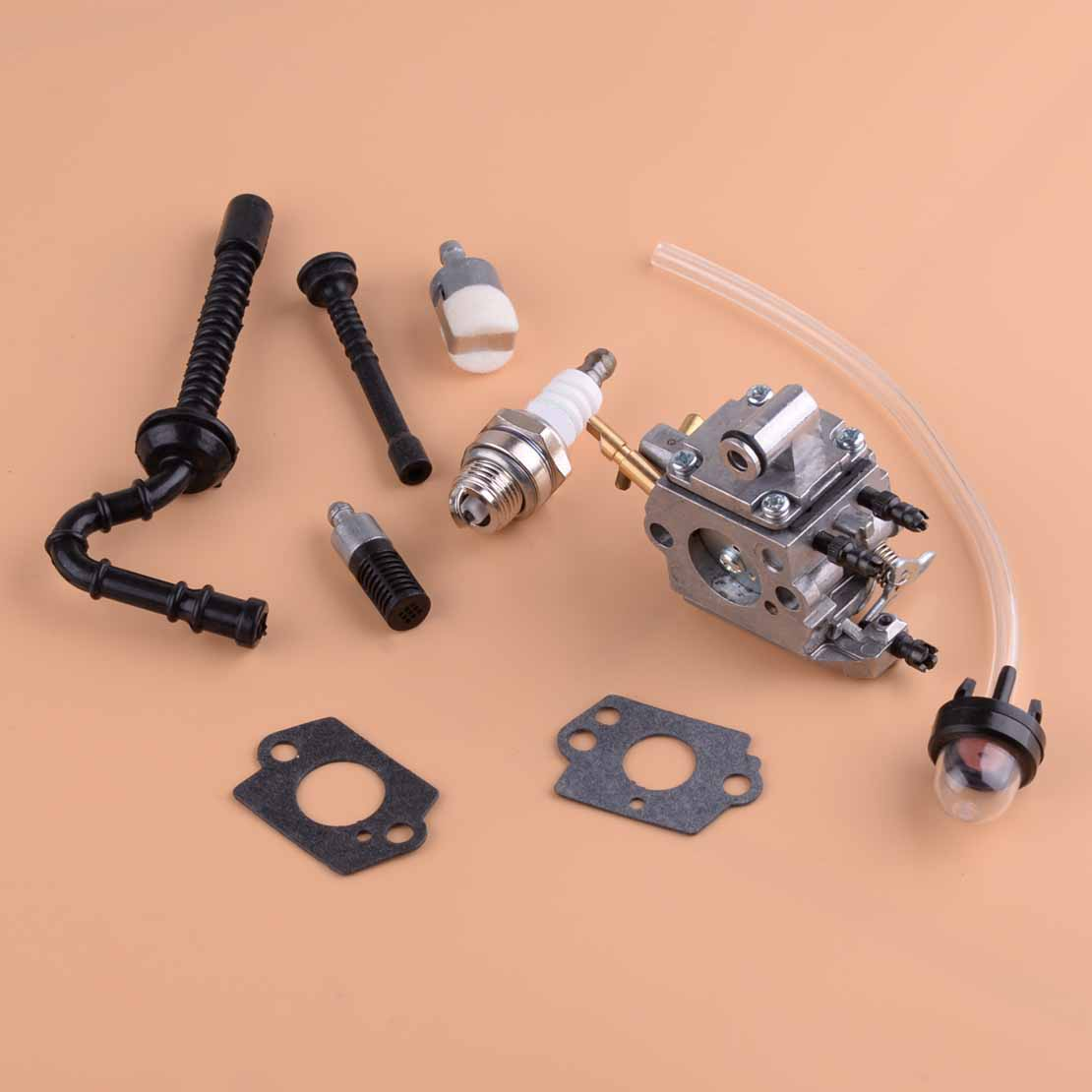 beler 9pcs Carburetor Carb Tune Up Kits 1137 120 0650 Fit for Stihl MS192T MS192TC Chainsaw Zama C1Q S258