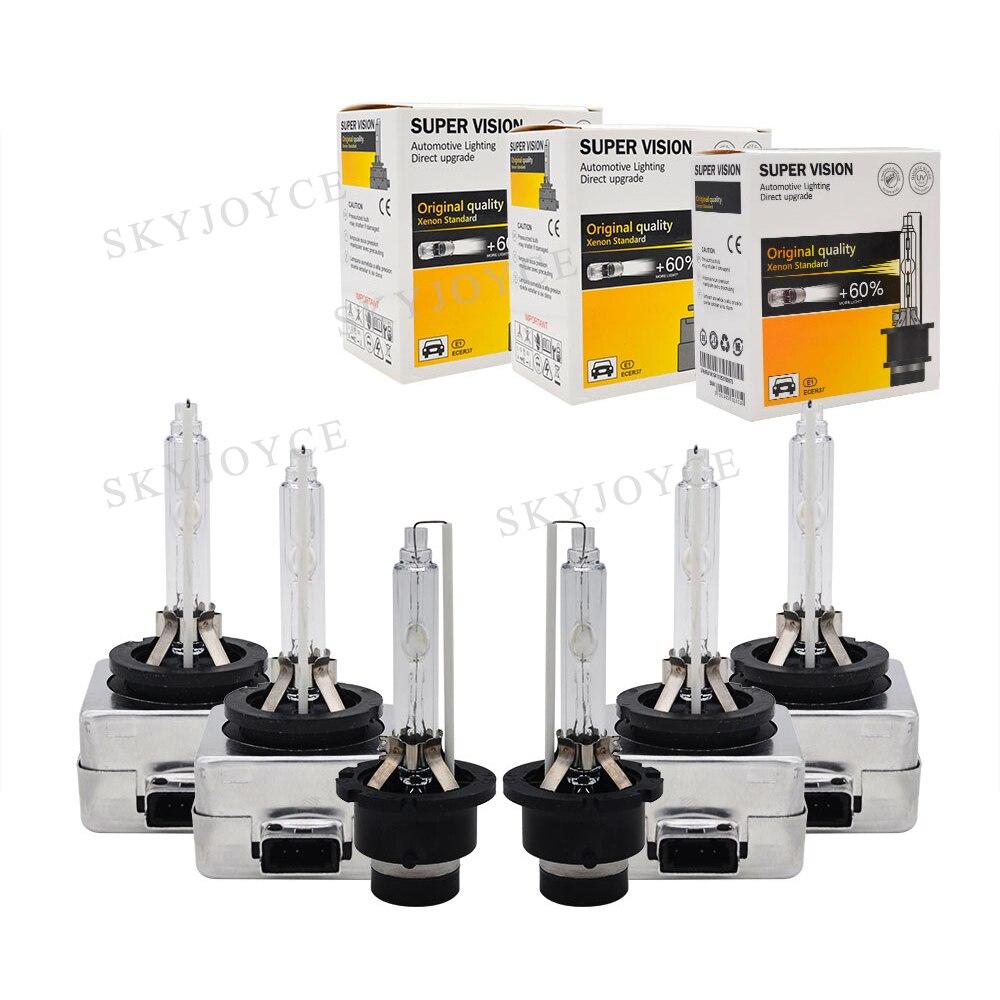 55W HID Bulb D1S D2S D3S D4S D1R D2R D3R D4R Car Headlight bulb 12V 4300K 5000K 6000K 8000K 35W 55W D1S D2S HID Replacement Bulb