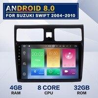 10,1 дюймов Android 8,0 4 ГБ + 32 ГБ автомобиля gps автомагнитолы для SUZUKI SWIFT 2004 2010 для suzuki swift Радио android px5 dvd плеер