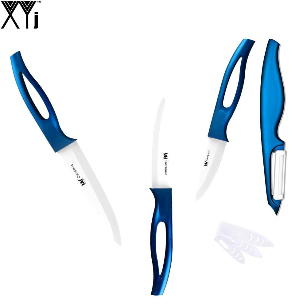 xyj marca zirconio lama di ceramica da cucina coltello miglior coltello da cucina della frutta utility