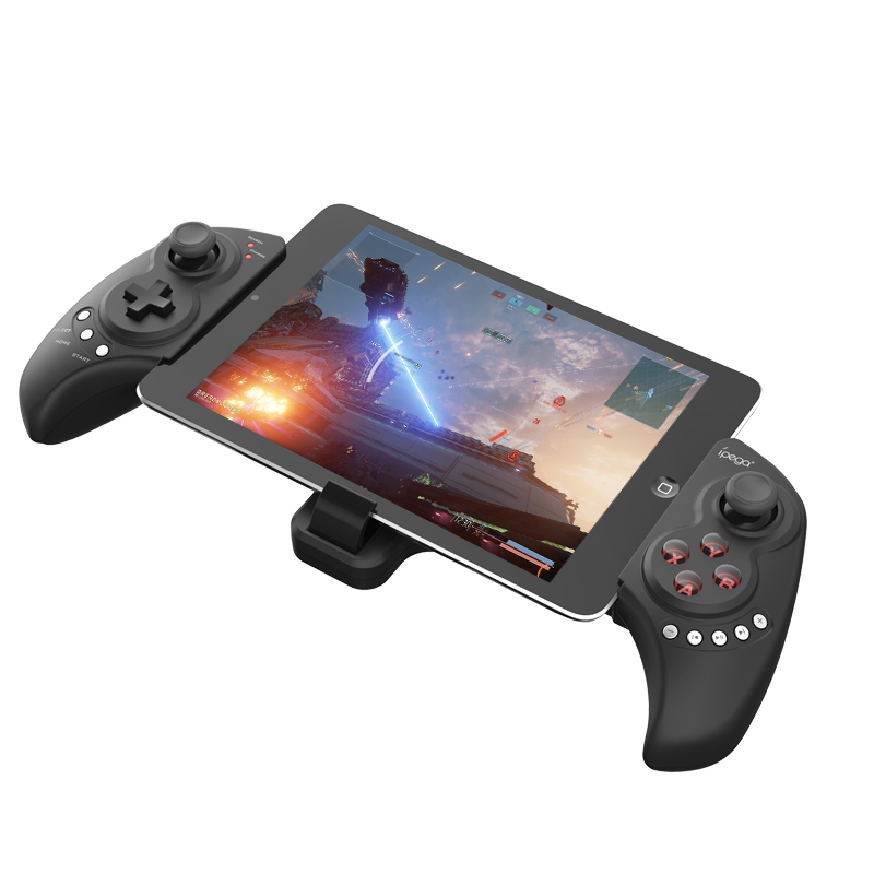 iPega PG-9023 Wireless Bluetooth Gamepad Game Controller Joystick Joypad Adjustable Brackets for Android/ iOS Tablet PC Phone