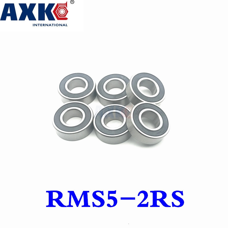 2018 New Sale Rolamentos Thrust Bearing Axk Non-standard Special Ball Bearing Rms5-2rs Deep Groove Rms5 15.875*46.038*15.875mm non standard special ball bearing 608 630 8 2rs1 630 8 bearing thick b8 74d 8x22x11mm bearing