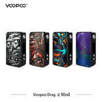 In Stock Electronic Cigarettes Mods Voopoo Drag 2 Mod 177w Dual Battery Vaporizer VS VOOPOO DRAG 157W MOD Electronic Cigarettes