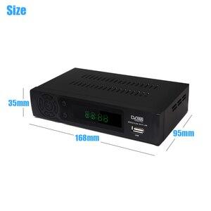 Image 4 - 2020 hd 1080p DVB T2 receptor de sinal digital conjunto caixa superior dvb t2 receptor terrestre h.264 dvb sintonizador de tv com suporte rj45 wi fi