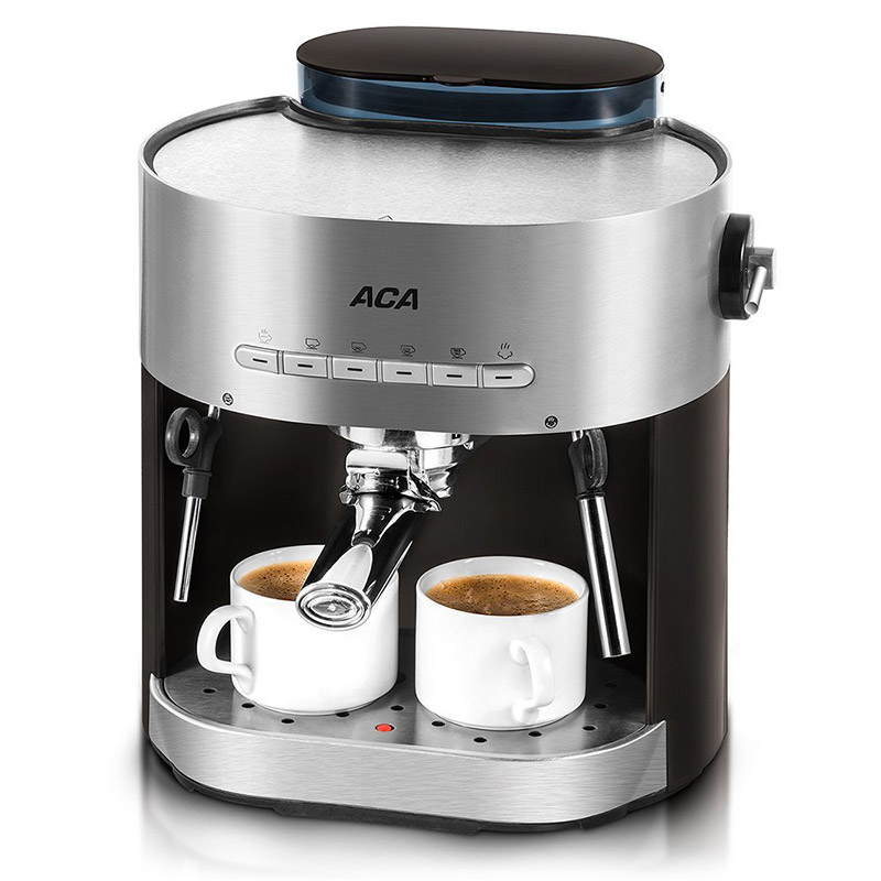 AC-E15B 1250W Pump type Coffee machine Household Commercial Italian Semi-automatic Steam type Coffee machine 15Bar