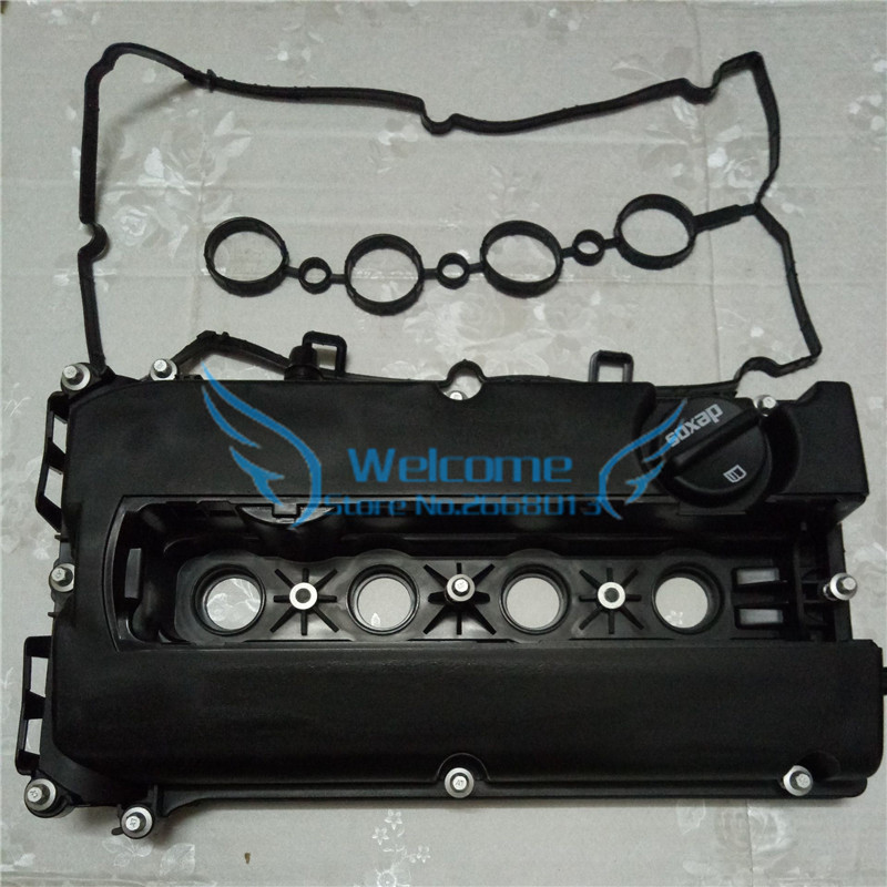 1set Engine Valve Cover For Chevrolet Aveo Cruze Sonic Pontiac G3 Saturn HOLDEN VAUXHALL Opel Astra