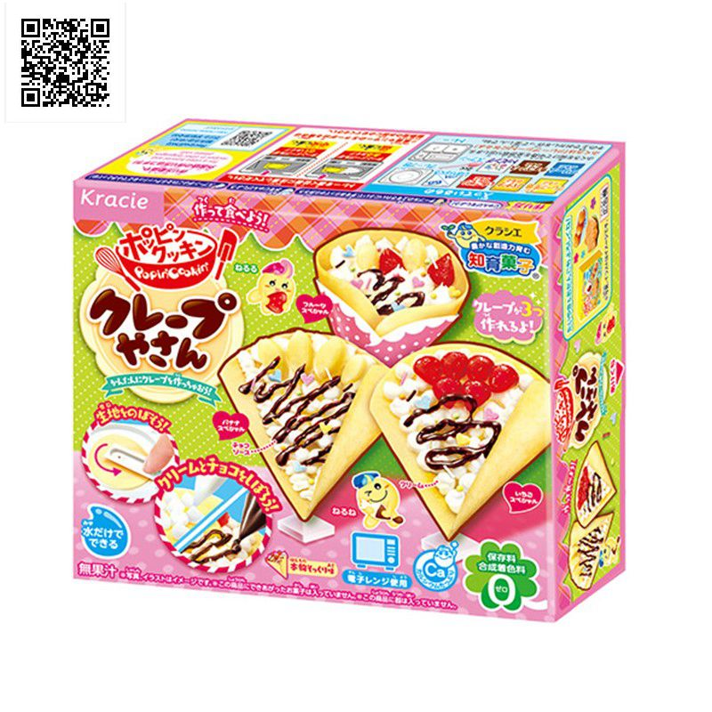 Japansk Popin Cook Happy cake DIY handgjorda Toy Kitchen Låtsas leksaker