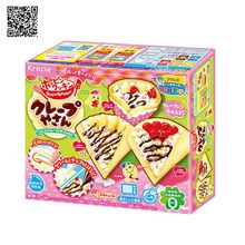 Japanese Snack Popin Cook Happy lunch DIY handmade candy drinks,Toy ,sweets and candy, Food ,Candy ,Snack toy free shipping pencil shaped chocolate gifts 3d puzzle toy stickers 50g sweets and candy food candy box