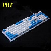 Casquette de clé en PBT épaisse, 108 ANSI ISO, rétroéclairé, pour clavier Gaming mécanique, avec rétroéclairage, pour commutateurs Cherry MX