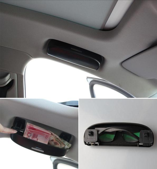 Interior Sunroof Car Front Sun Glasses Case Storage e For Audi Q3 8U  2012-2015 / Q5 8R 2008 2009 2010 2011 2012 2013 2014 2015