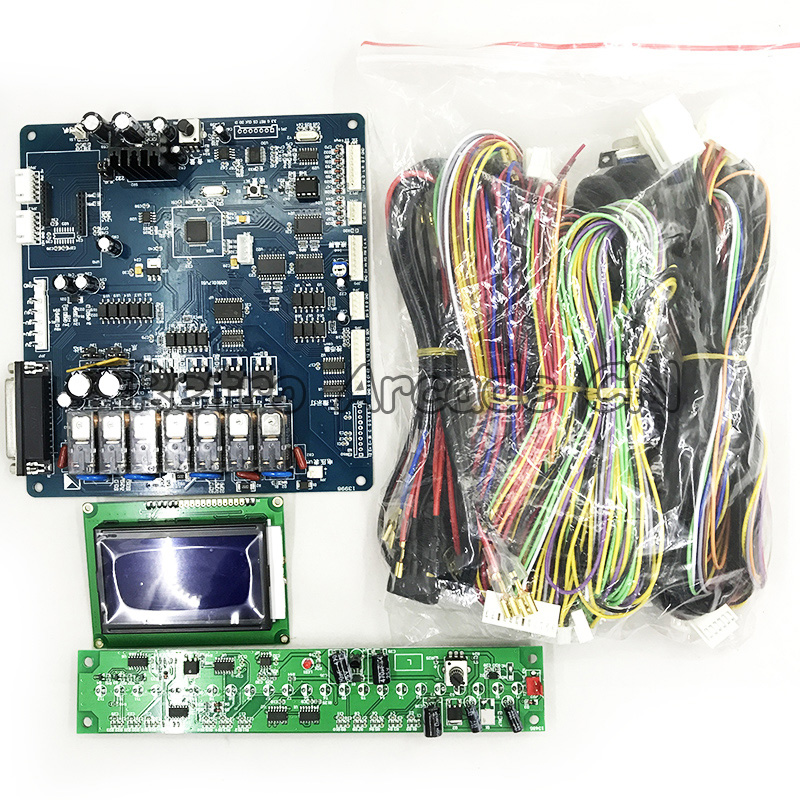 Высокое качество кран машина PCB доска аркадный подарок/кукла машина контроллер доска с дисплеем времени, жгут проводов