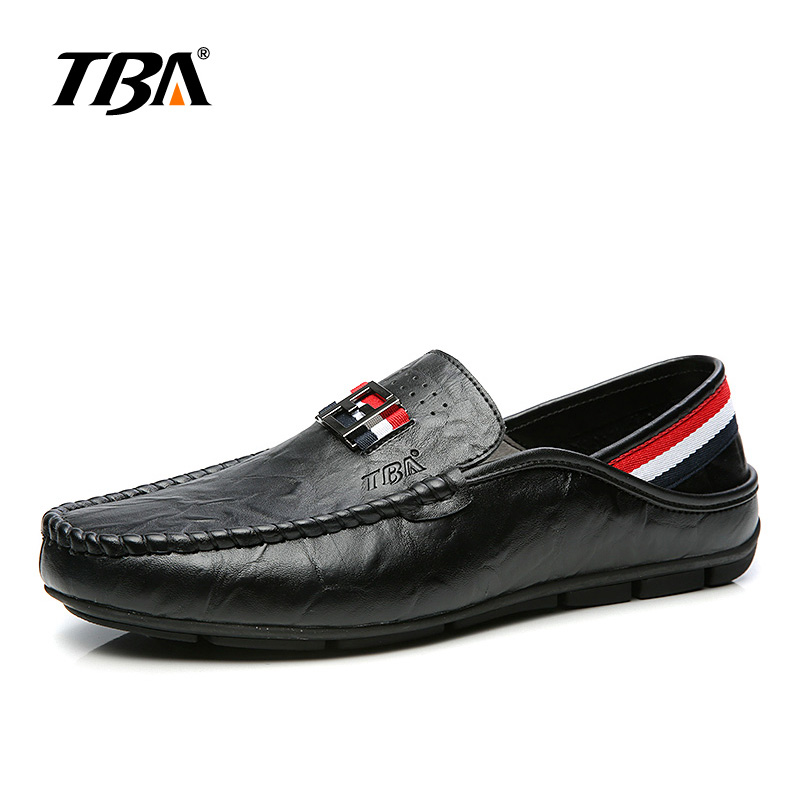 TBA Man Casual Shoes Comfortable Leather shoes Fashion footwear for Male