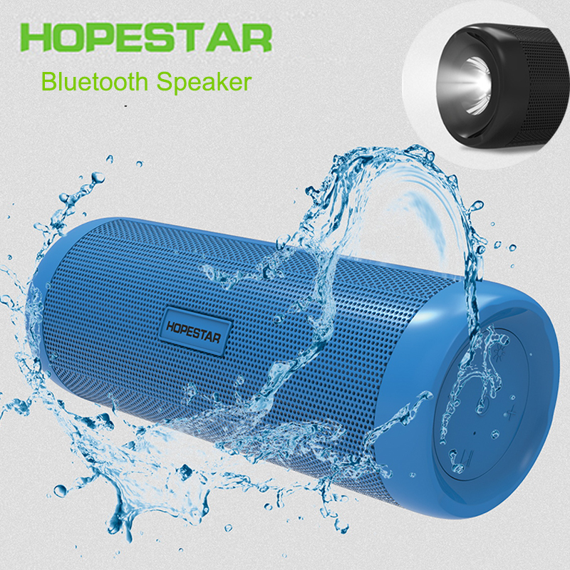 Bluetooth Outdoors Speaker Wireless Portable Subwoofer Bike Waterproof Support TF FM Xiaomi With Power Bank Flashlight