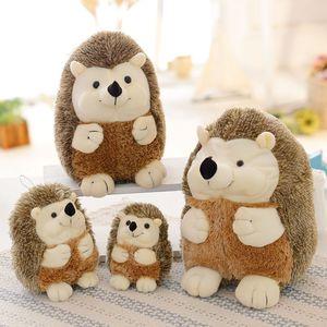 17cm/38cm Simulation Plush Toys Soft Hedgehog Animal Doll Child Kids Home Kawaii Soft Hedgehog Plush Toys To The Kids Girls Gift