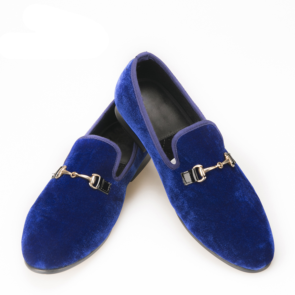 casual shoes fashion High-end custom Buckle Men Velvet shoes Smoking Slipper Loafers Men Flats shoe sapato masculino 2017 velvet men loafers with copper buckle smoking slipper men flats fashion casual size us 6 14 free shipping