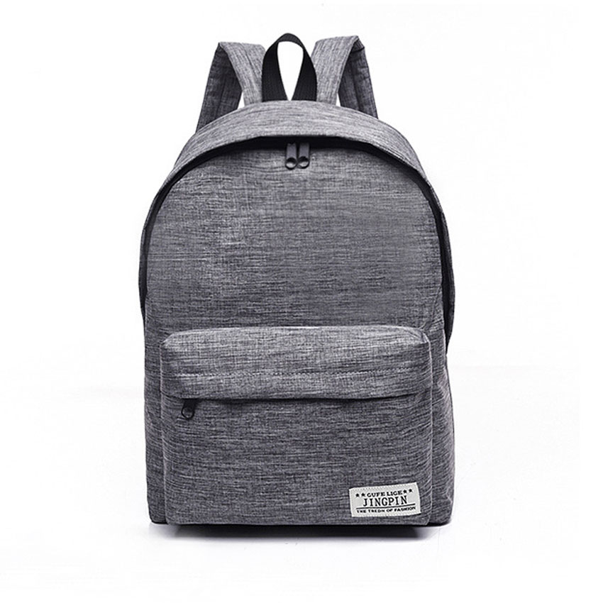 Canvas Men Women Backpack Boy Girls Laptop Travel Rucksacks