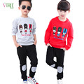 New Autumn Baby Boys Girls Clothing Sets Cotton Sports Suit Sets For Kids Children Clothing Boys Girls T Shirt Pants Clothes