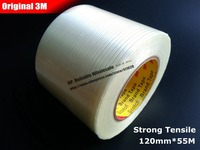 120mm 55M 3M Strong Tensile Adhesive Fiberglass Tape No Residule For Heavy Box Furniture Home