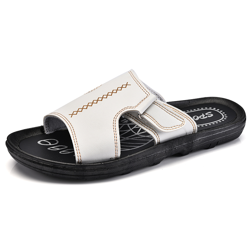 62cc7c694 KLYWOO Plus Size 45 46 Brand Men Sandal Summer Beach Slip On Garden Shoes  Casual Men Hollow Out Sandals Beach Hole Mens Slippers-in Slippers from  Shoes on ...