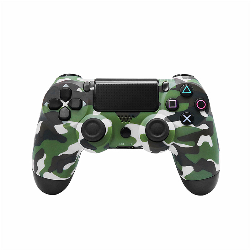 Wireless Bluetooth gamepadr ps4 controller for ps4 controller gamepad compatible with PlayStation Dualshock 4 pubg mobile 2018 new upgrade version 5 50 bluetooth wireless gamepad joysticks for playstation4 dual shock 4 controller ps4 controller