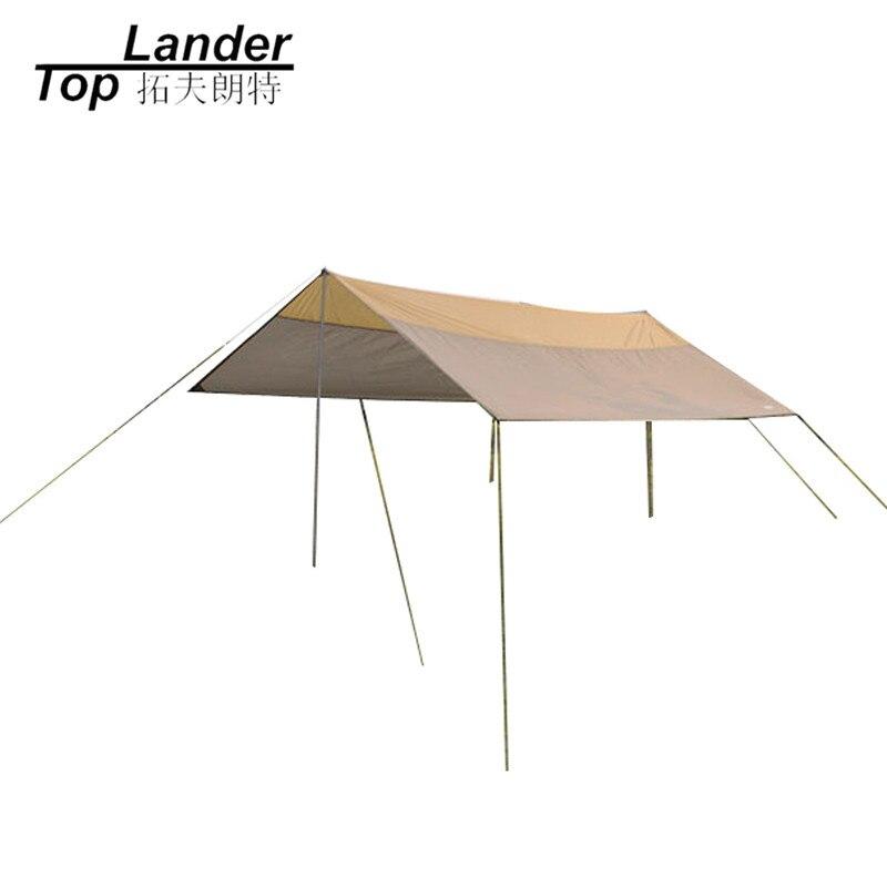 Auvent d'événement extérieur Ultralarge Simple famille Camping abri de soleil plage événement auvent été soleil Protection UV Garages bâches