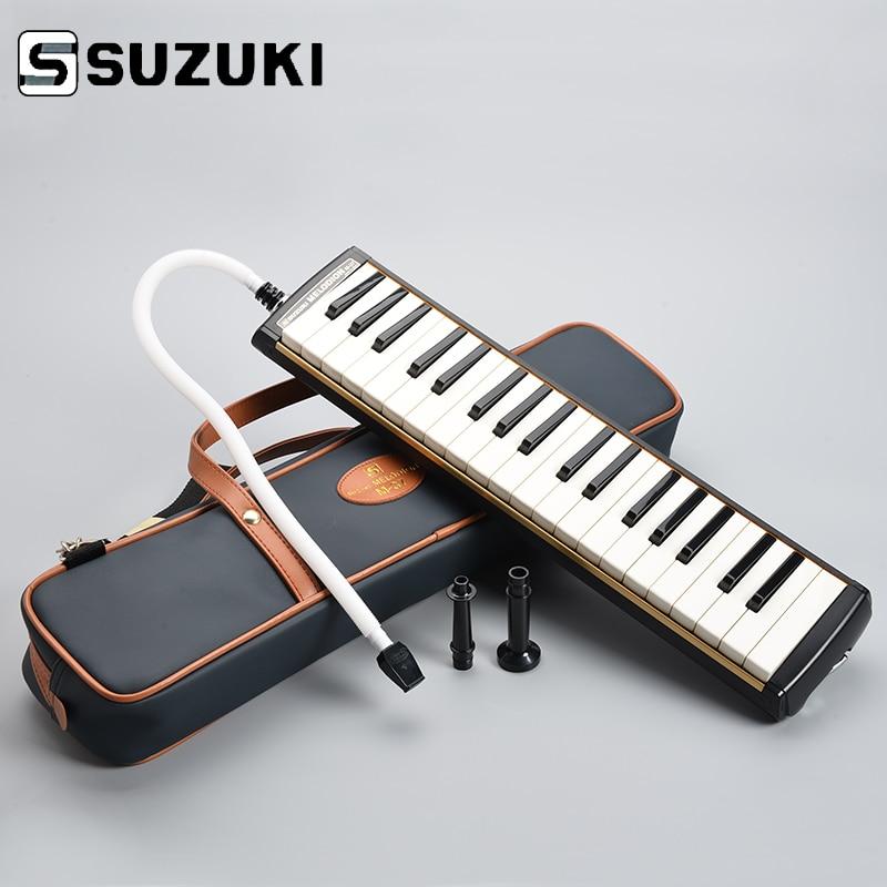 SUZUKI M-37C Keyboard Harmonica Melodion Melody On Alto 37 Key Professional Melodica/ Pianica With Handbag Gift Of Choice
