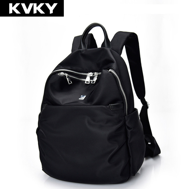 31dc5eb6db KVKY Brand Women Backpack Waterproof nylon School Bags Students Backpack  Women Travel Bags Shoulder Bag for