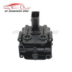 Pneumatyczny amortyzator wstrząsów pompa sprężarki blokada zaworu dla BMW X5 E70 X6 E71 E72 E39 E61 pneumatyczne zawieszenie amortyzator 37206859714 37226775479